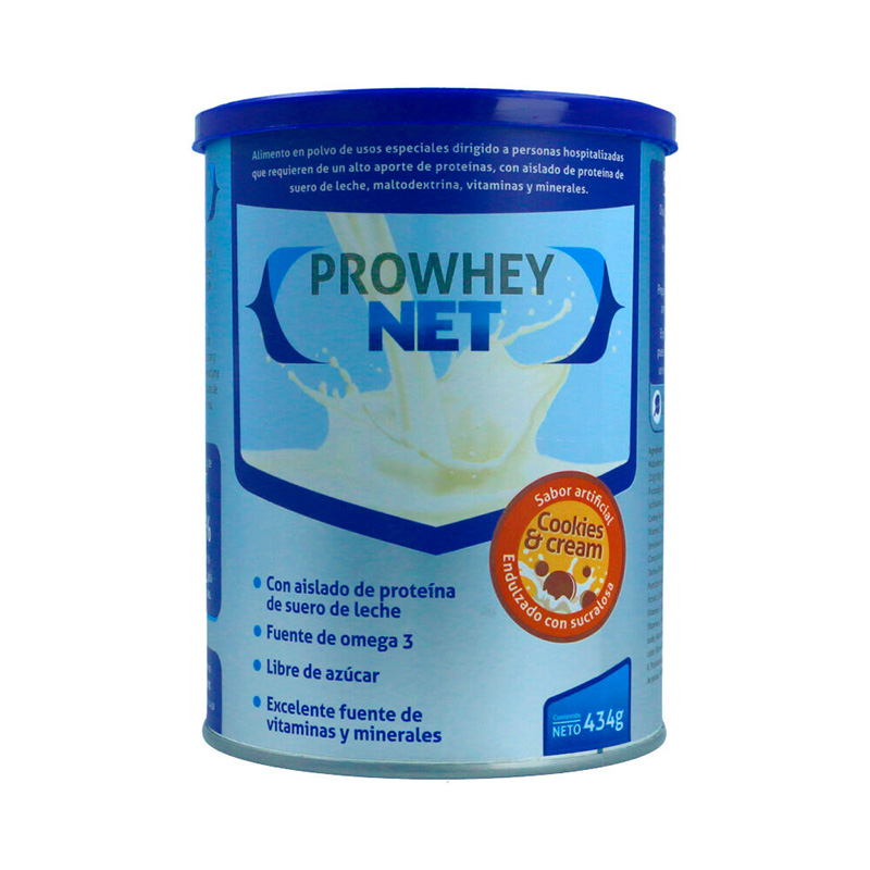 PROWHEY NET COOKIES &CREAM 434GR BY