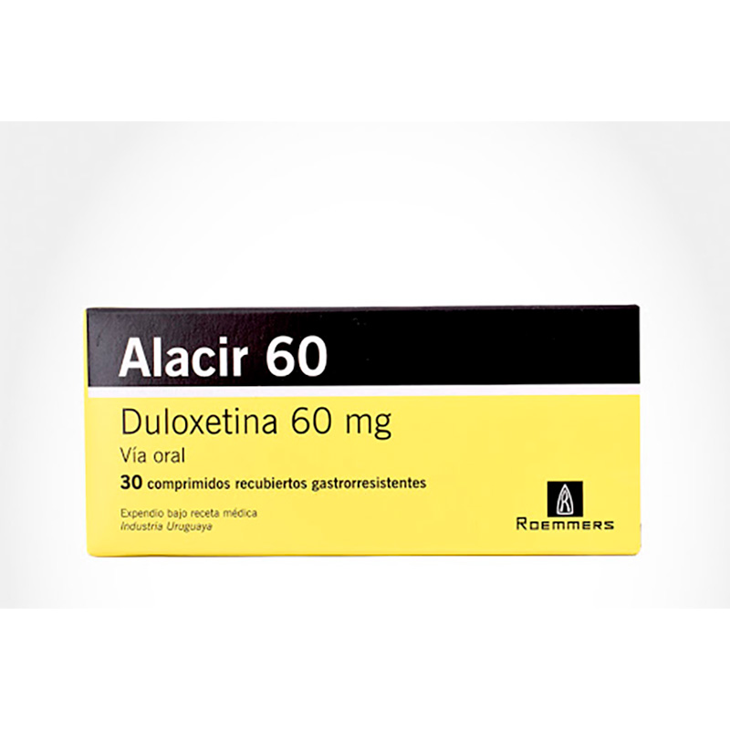 ALACIR 60MG X 30COMP