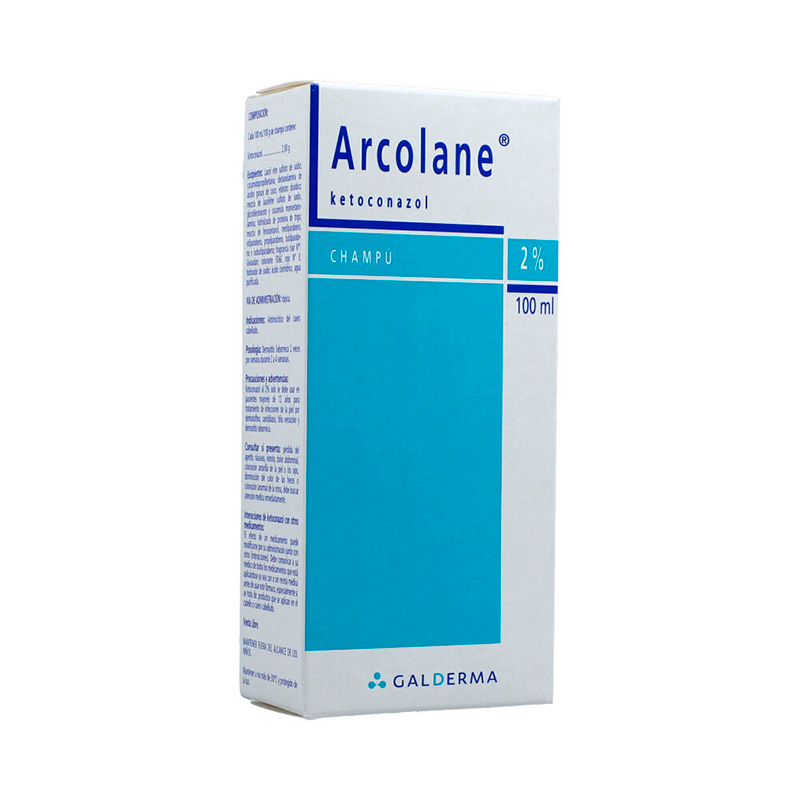 ARCOLANE CHAMPU 2% X 100ML.GD