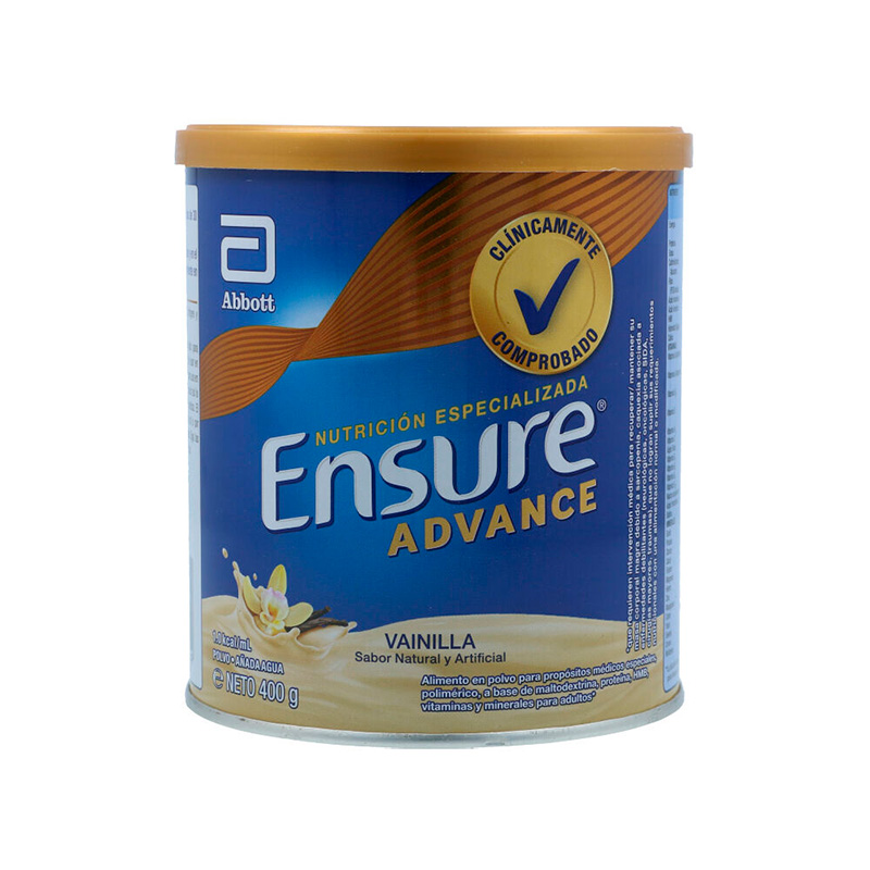 ENSURE ADVANCE VAINILLA X 400GR.AB