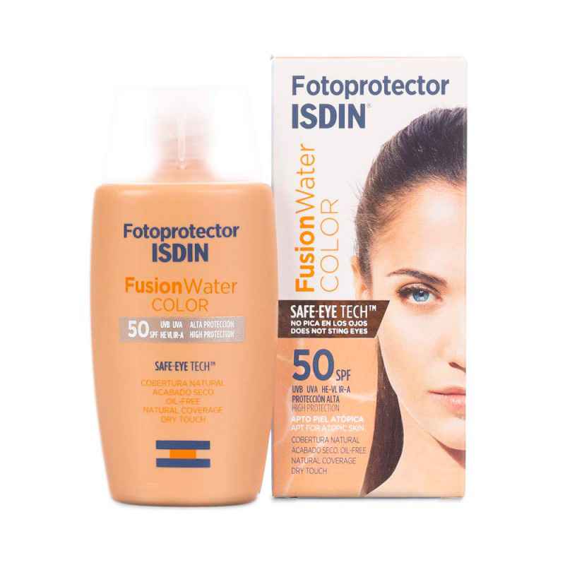 ISDIN FOTOPROTECTOR FUSION WATER COLOR SPF50+ OIL CONTROL X 50ML