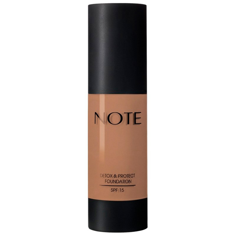 NOTE DETOX & PROTECT FOUNDATION SPF15 N°102 WARM ALMOND