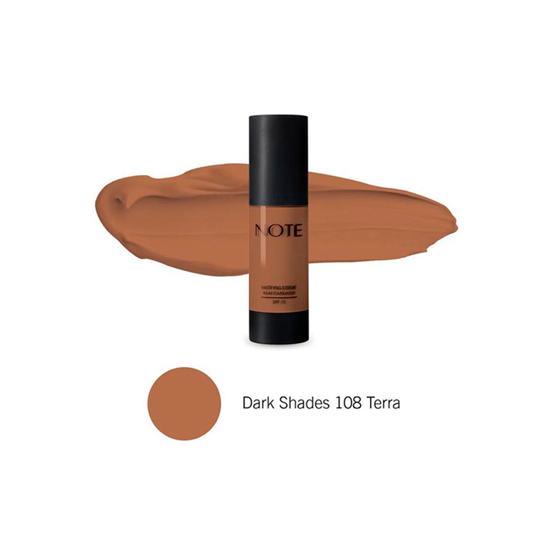 NOTE DETOX & PROTECT FOUNDATION SPF15 N°108 TERRA