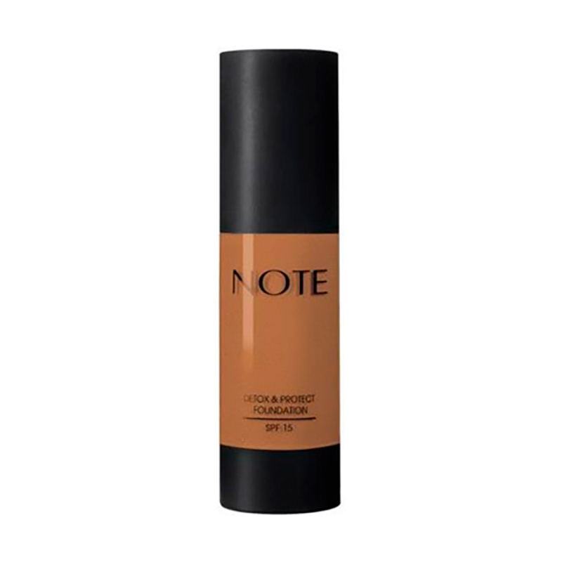 NOTE DETOX & PROTECT FOUNDATION SPF15 N°113 HONEY BRONZE