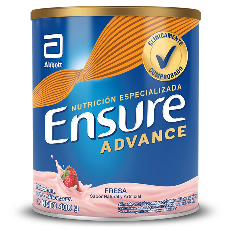 ENSURE ADVANCE FRESA X 400GR AB