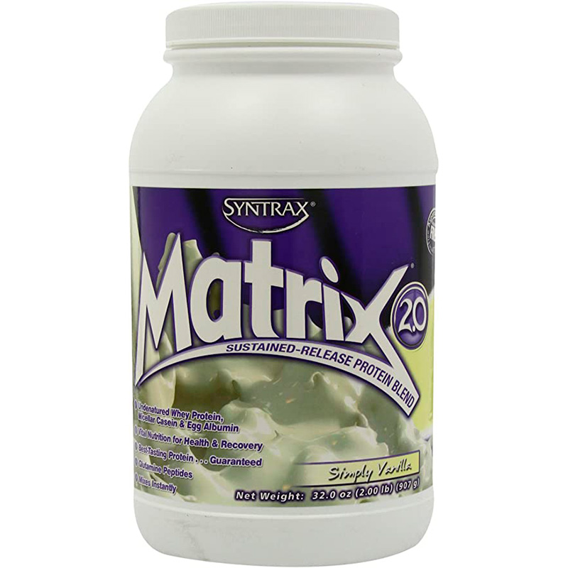 MATRIX SIMPLE VANILLA POLVO X 2LB FITT