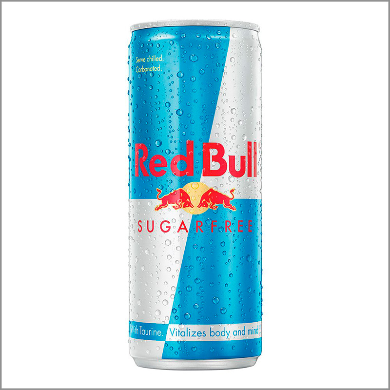RED BULL SUGARFREE BEBIDA ENERGIZANTE X 250ML.PT