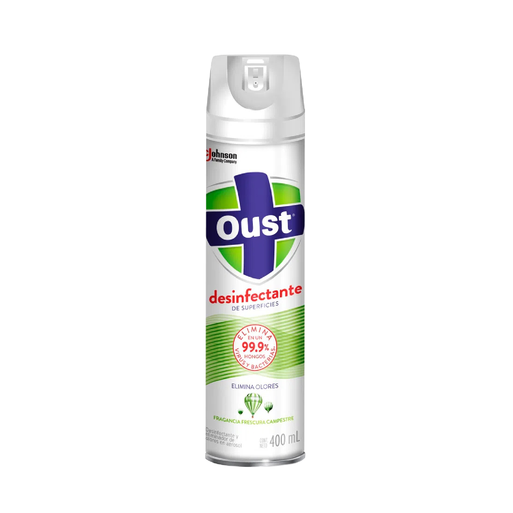 DESINF.OUST FRESCURA CAMP.SPRAY 400 ML