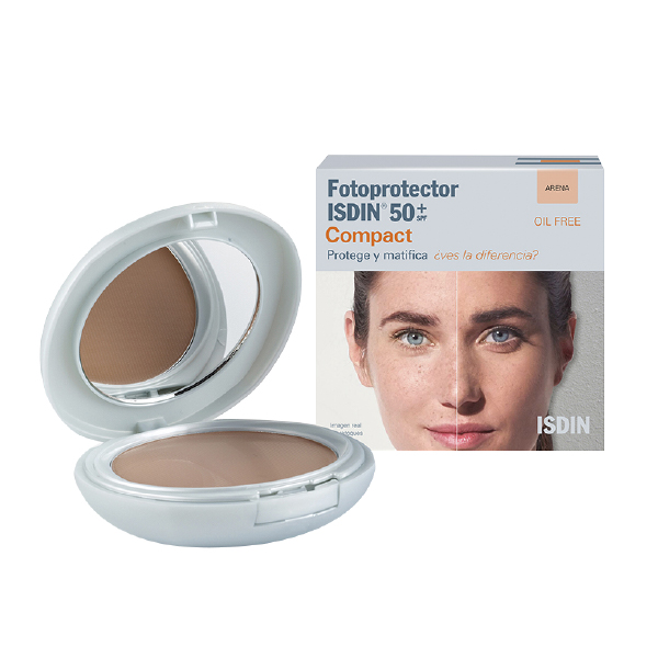ISDIN FOTOPROTECTOR COMPACT 50+ ARENA X 10GR
