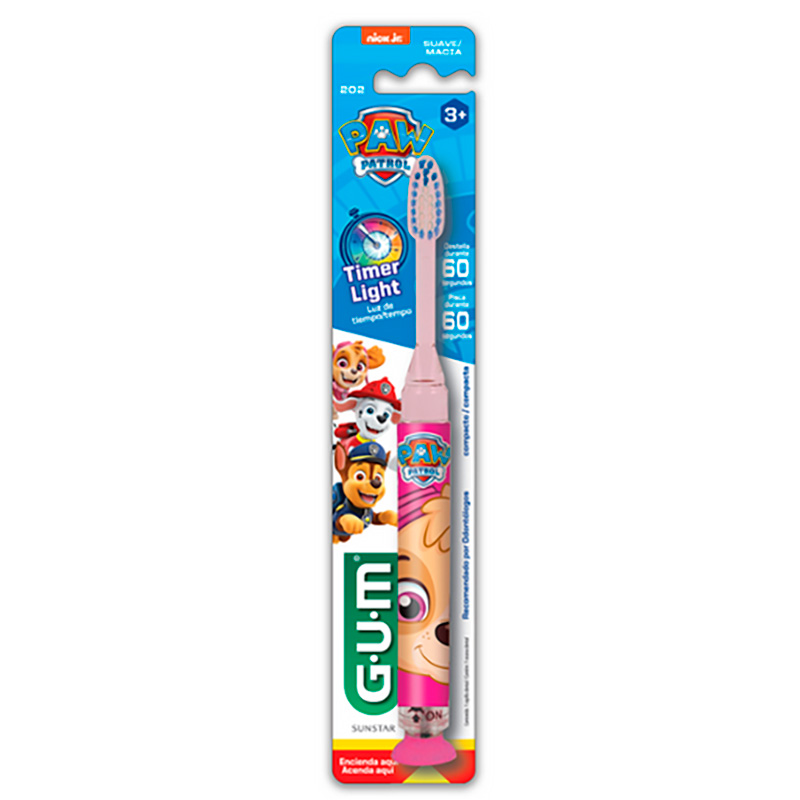 GUM CEP.DENTAL TIMER LIGHT PAW PATROL