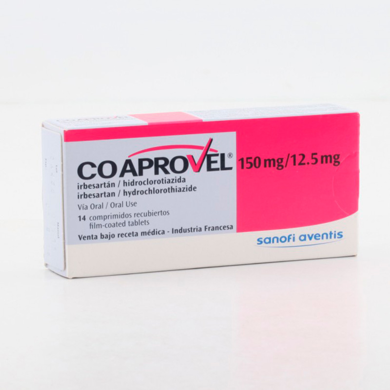 COAPROVEL 150/12.5MG X 14COMP.SN