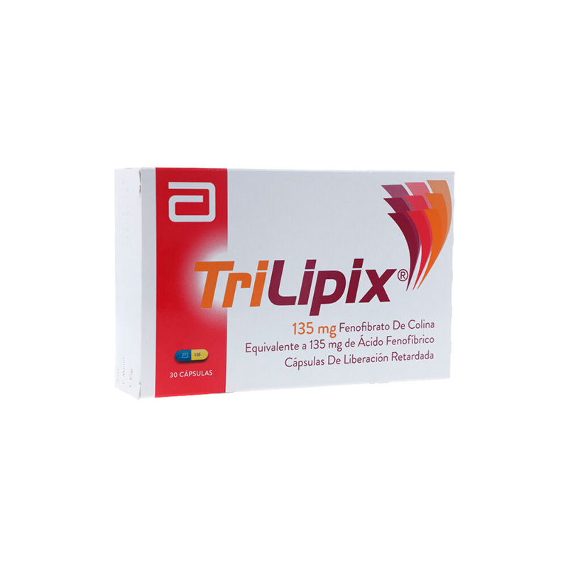 TRILIPIX RETARD 135 MG 30 CAP