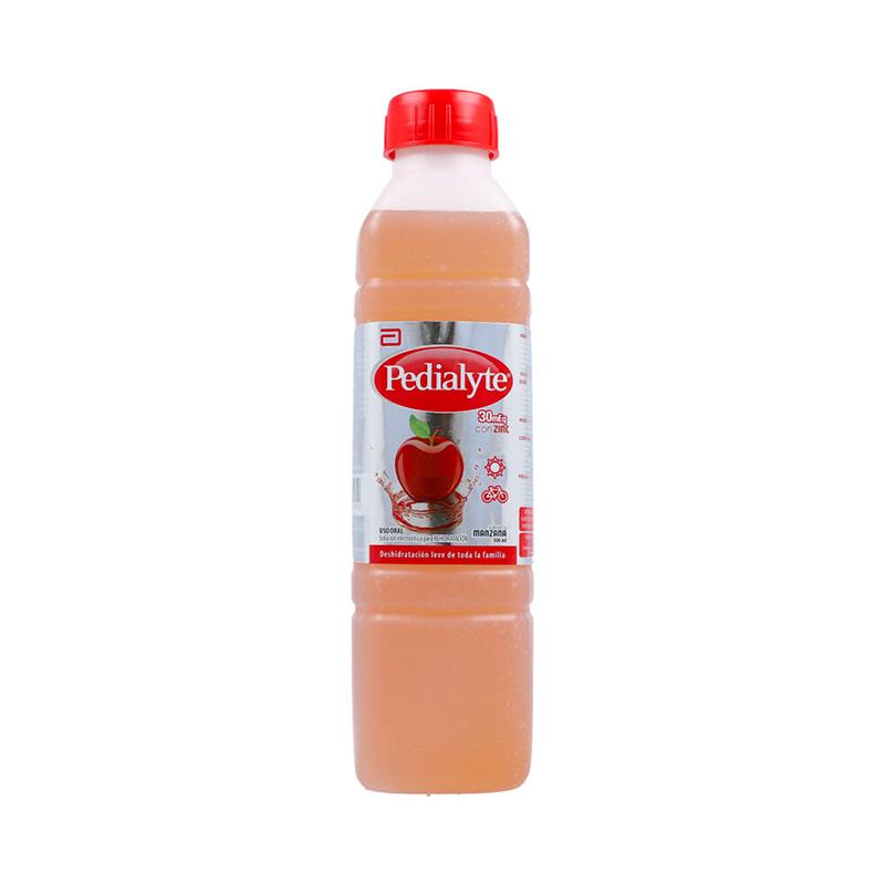 PEDIALYTE 30 ZINC MANZANA X 500ML.AB