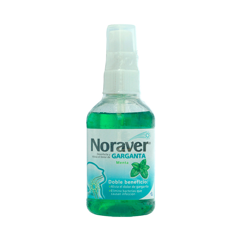 NORAVER MENTA SPRAY X 120ML.MK