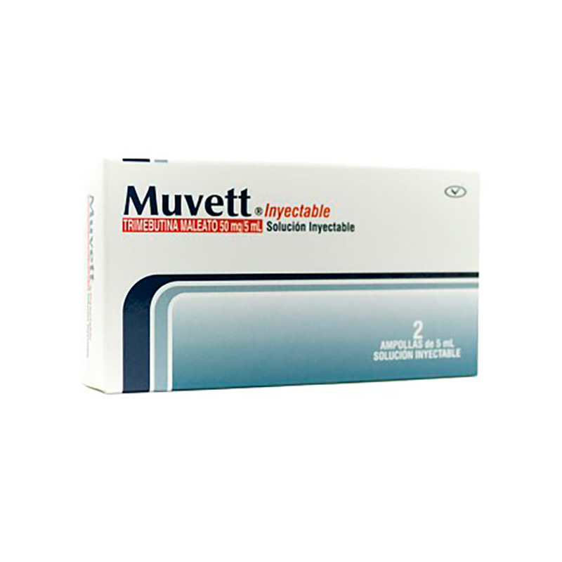 MUVETT SOL.INYECTABLE 50MG/5ML X 2AMP.PC