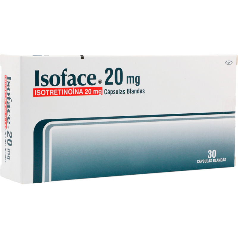 ISOFACE 20MG X 30CAP.PC