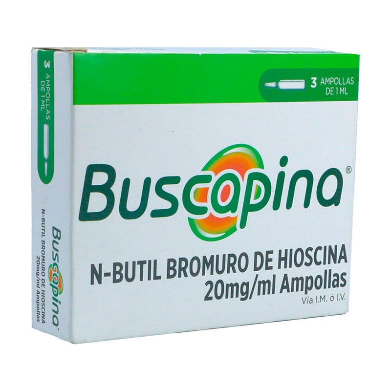 BUSCAPINA 20MG/ML X 3AMP.1ML.BI