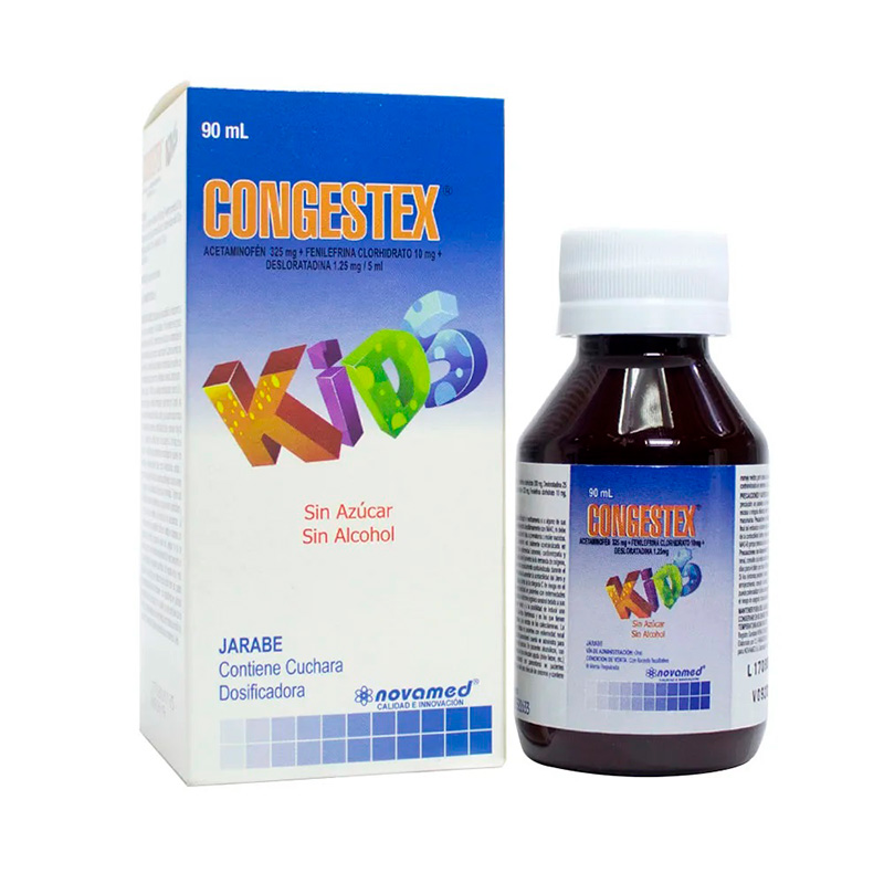 CONGESTEX G KIDS JARABE X 90ML NV
