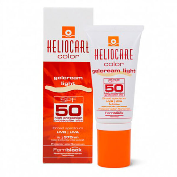 HELIOCARE COLOR GELCREAM LIGHT SPF50 X 50ML.MF