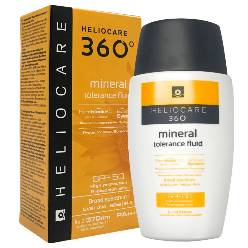 HELIOCARE 360° MINERAL TOLERANCE FLUID SPF50 X 50ML.MF
