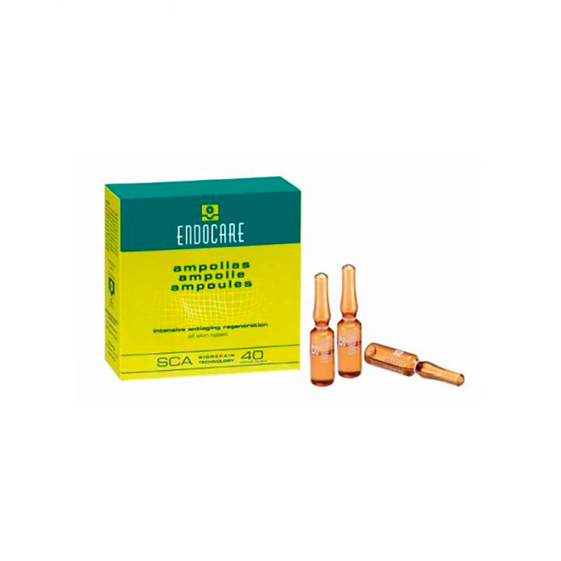 ENDOCARE AMPOLLAS REG.ANTIEDAD 7X1ML.MF