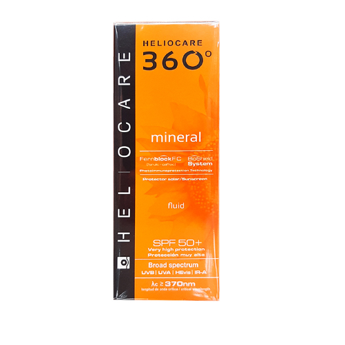 HELIOCARE 360 MINERAL FLUID SPF50 X 50ML