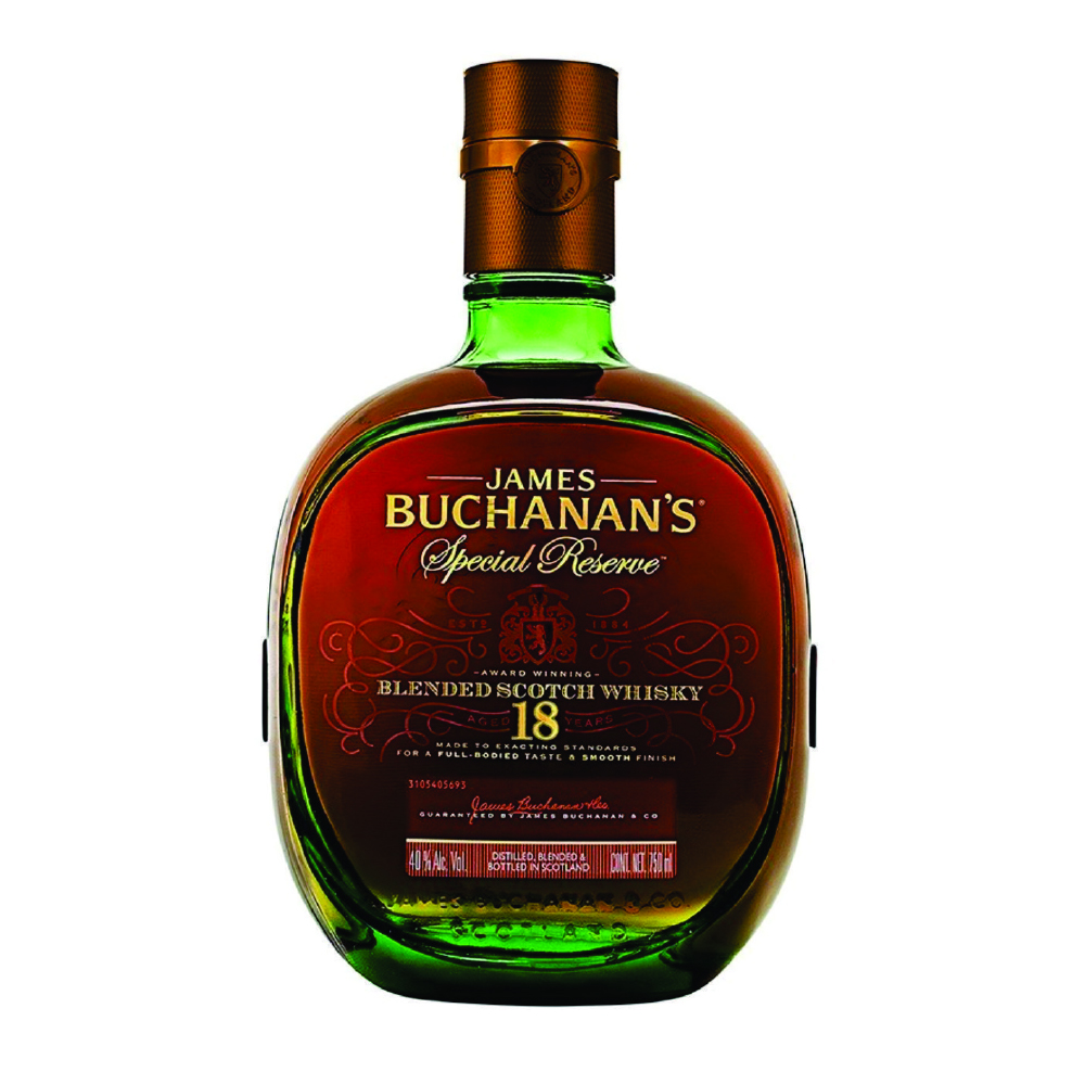 BUCHANANS 18 ANOS ESPECIAL RESERVE X 750 ML