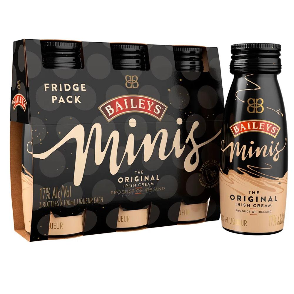 TRIPACK BAILEYS MINIS X 100 ML