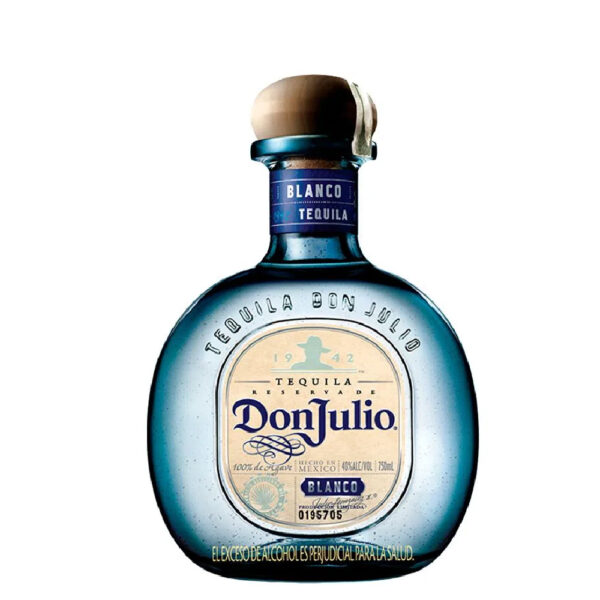 TEQUILA DON JULIO BLANCO RESERVADE X 700 ML