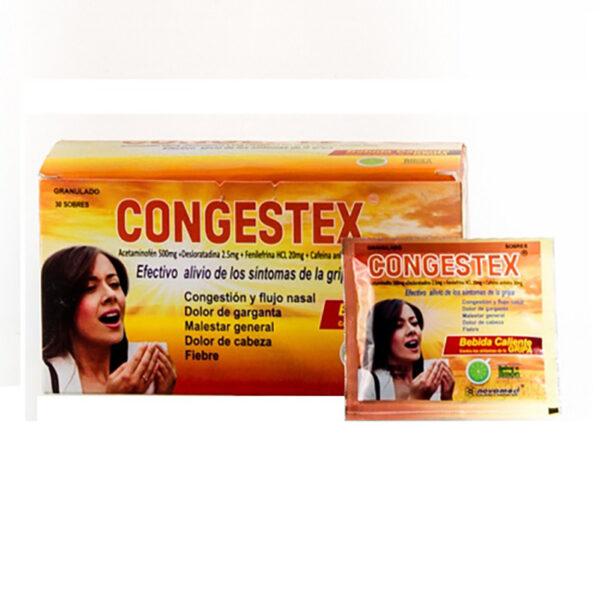 CONGESTEX GRIPA GRANULADO X 30SOB NM