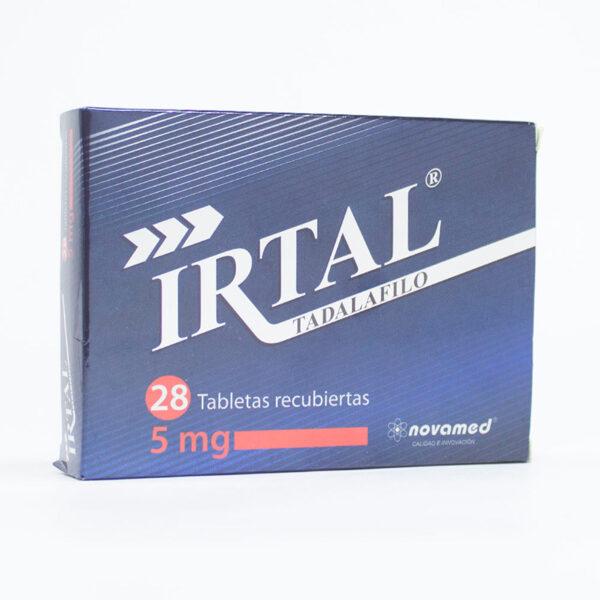 IRTAL 5MG X 28TAB NM
