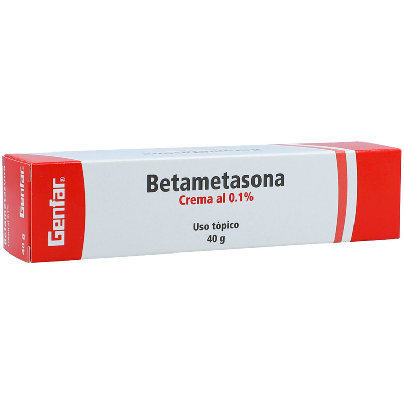 BETAMETASONA 0.1% CREMA 40GR. GF