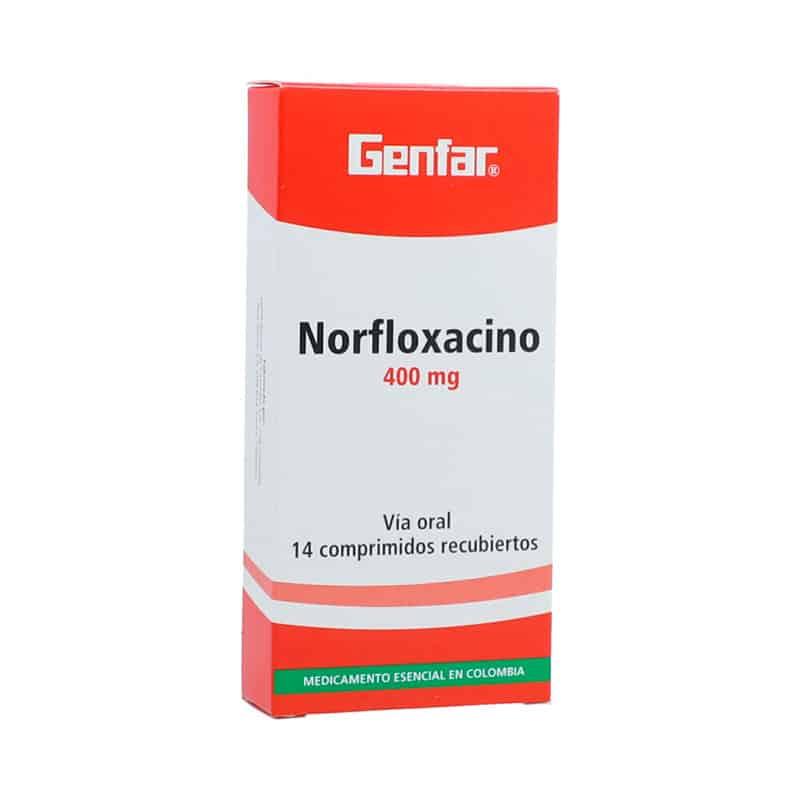 NORFLOXACINO 400MG X 14TAB.GF