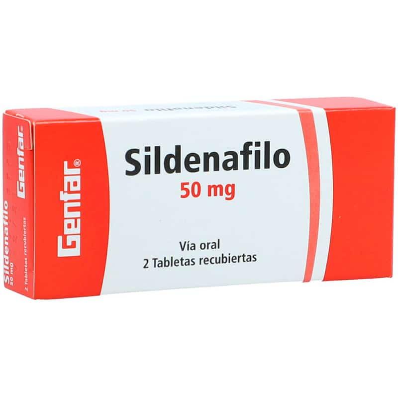 SILDENAFIL 50MG X 2TAB.GF