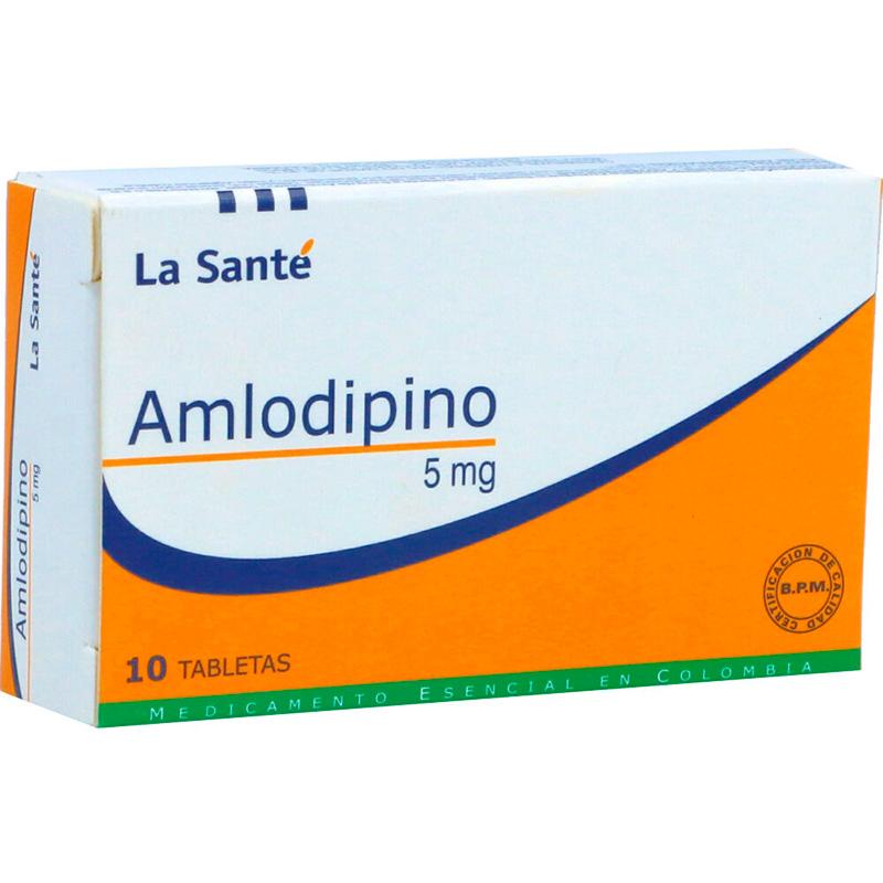 AMLODIPINO 5MG X 10TAB LS