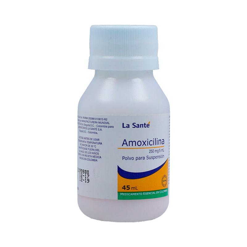AMOXICILINA 250MG POLVO PARA SUSP. X 45ML.LS