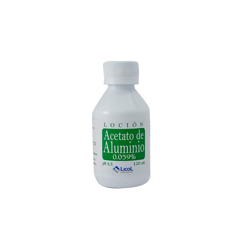 ACETATO DE ALUMINIO X 120ML LC