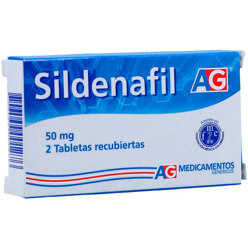 SILDENAFIL 50MG X 2TAB.AG