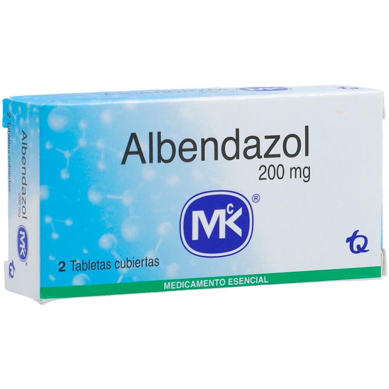ALBENDAZOL 200MG X 2TAB. MK