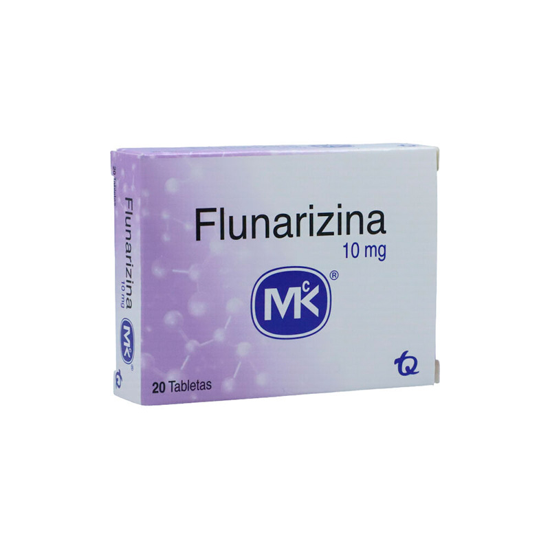 FLUNARIZINA 10MG X 20TAB.MK