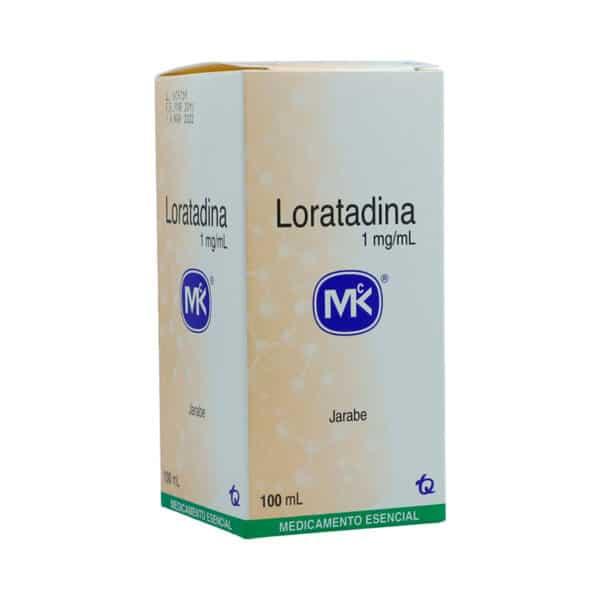 LORATADINA 1MG/ML JARABE X 100ML.MK