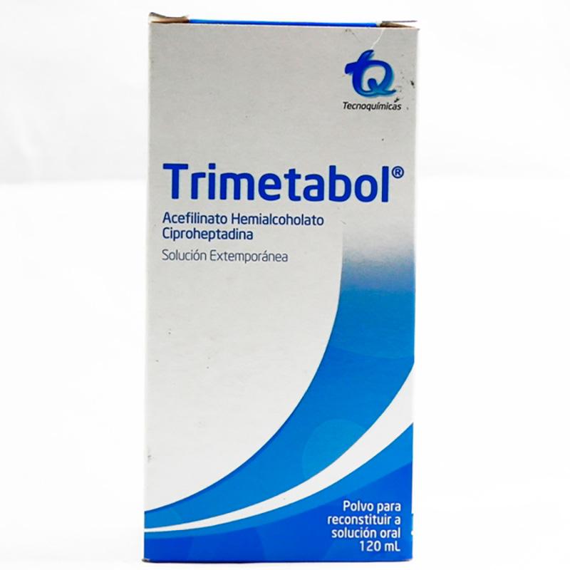 TRIMETABOL SOLUCION EXTEMPOR. X 120ML.MK