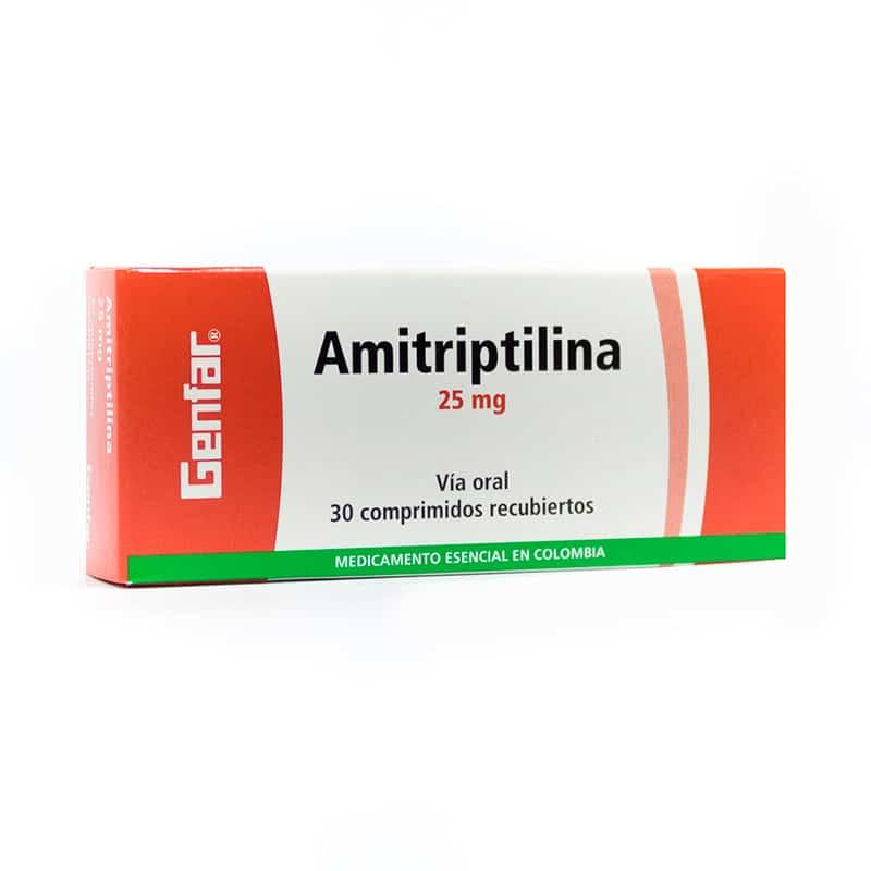 AMITRIPTILINA 25MG X 30TAB. GF