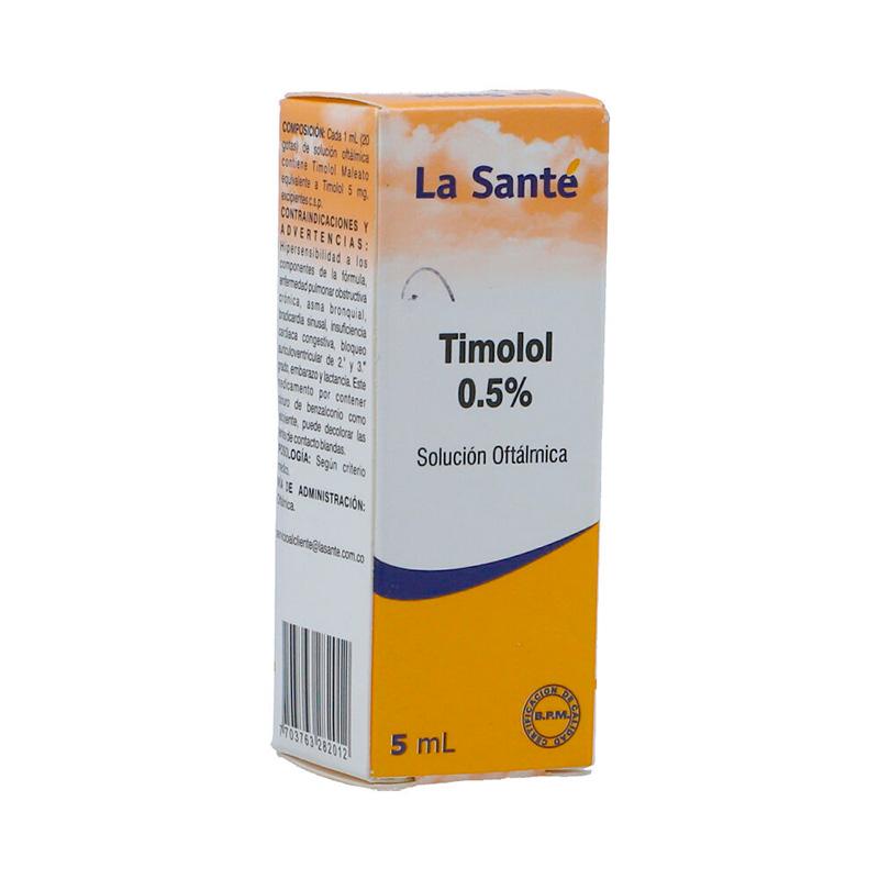 TIMOLOL 0.5% SOLUCION OFTALMICA X 5ML.LS