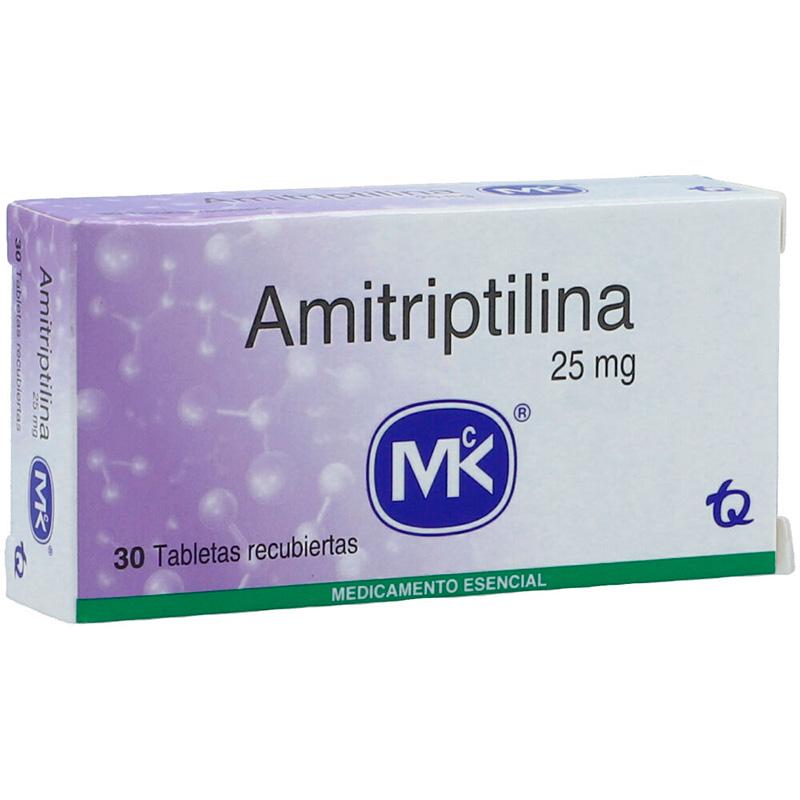 AMITRIPTILINA 25MG X 30TAB MK