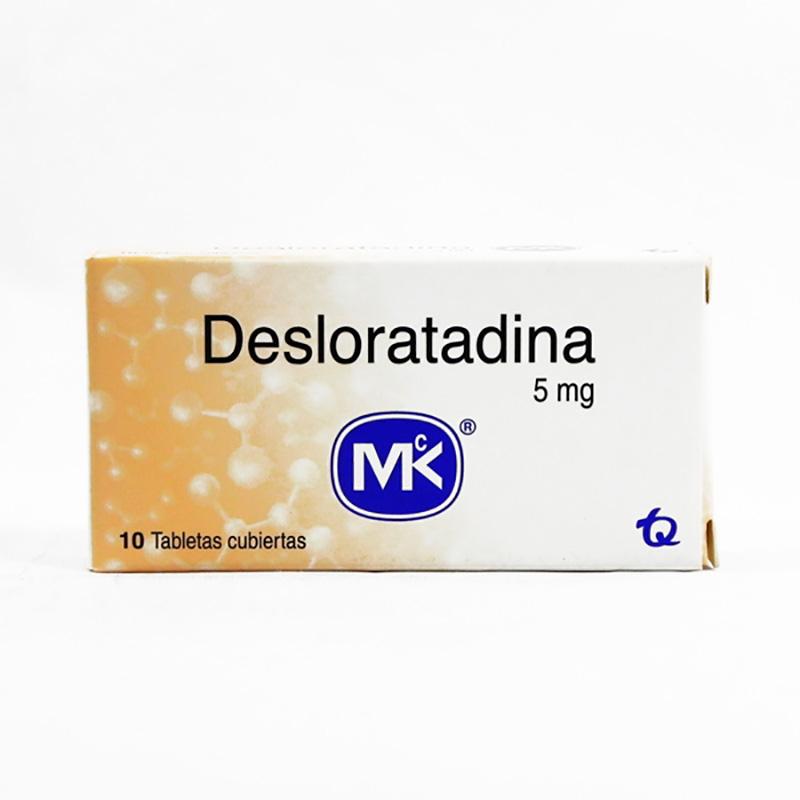 DESLORATADINA 5MG X 10TAB. MK