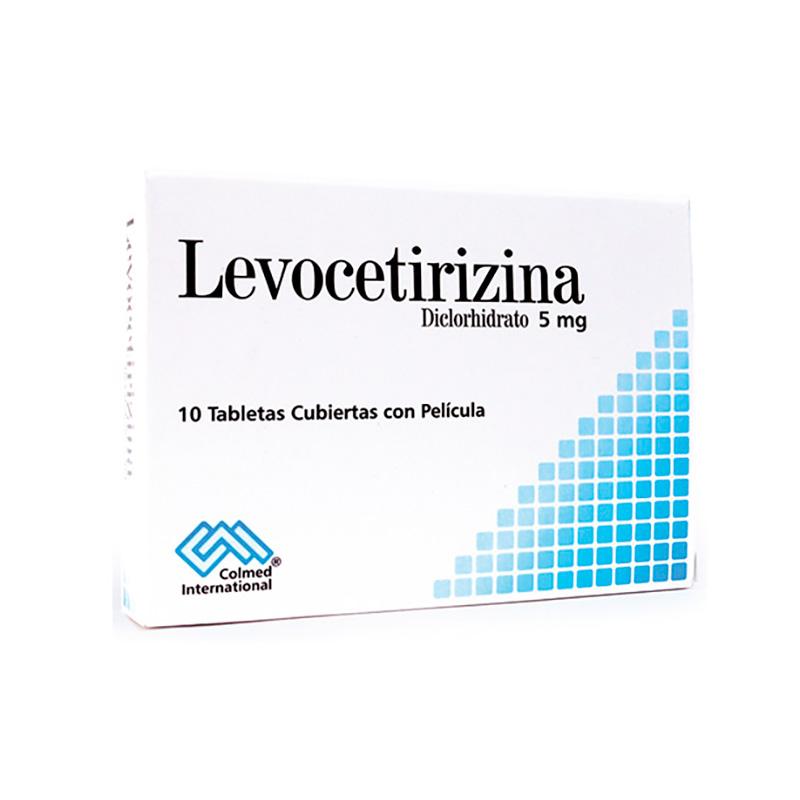 LEVOCETIRIZINA 5MG X 10TAB.PC