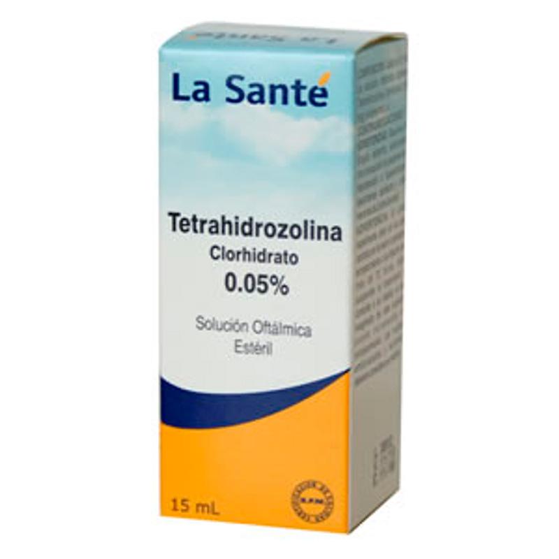TETRAHIDROZOLINA 0.05% OFTALMICA 15 ML LS