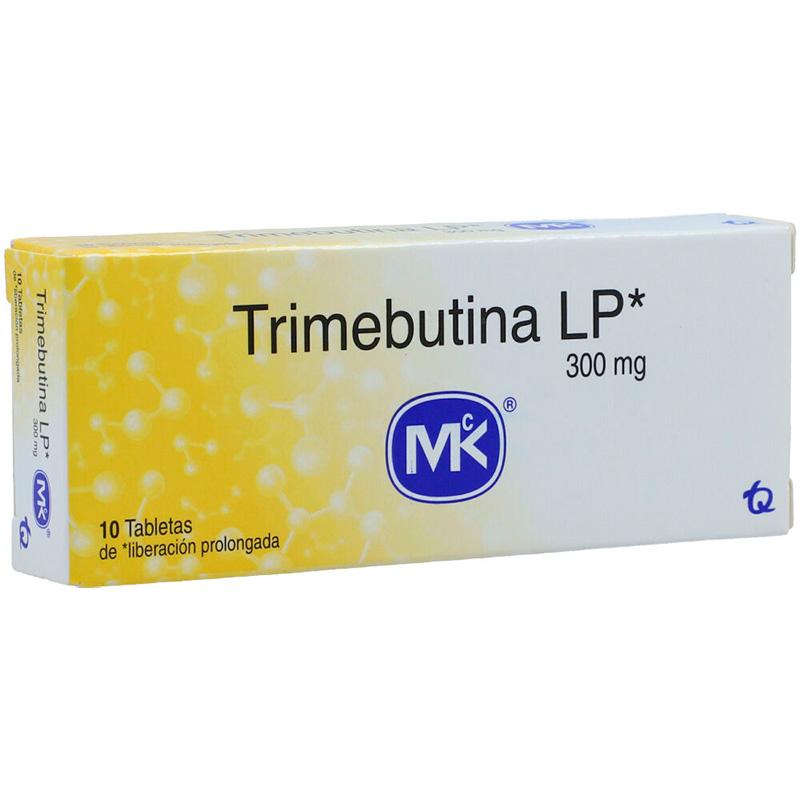 TRIMEBUTINA LP 300MG X 10TAB TQ