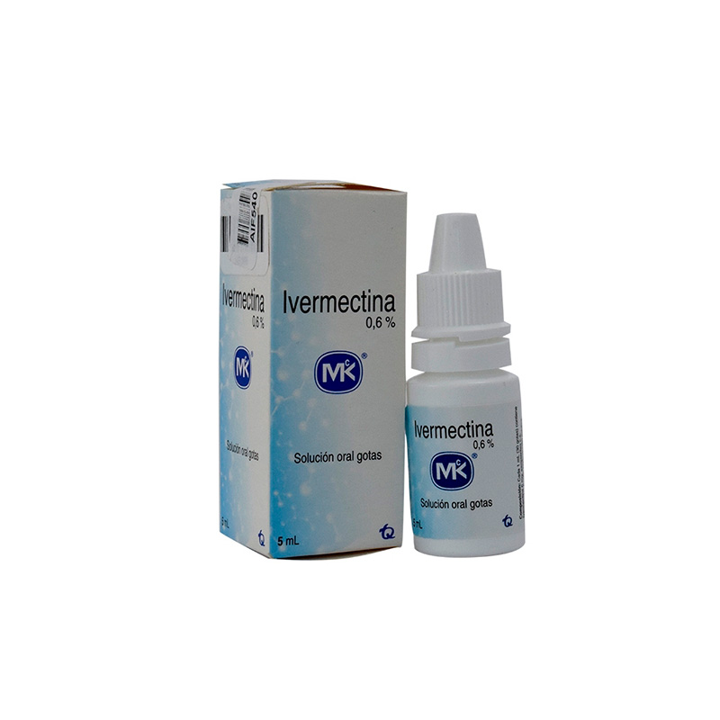 IVERMECTINA 0.6% SOLUCION ORAL X 5ML.MK